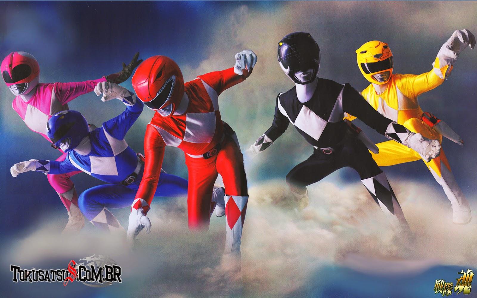 Kyoryu Sentai Zyuranger Completo Legendado em Português