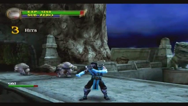 Mortal Kombat Shaolin Monks PS2 Gameplay