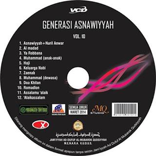 Al Mubarok Qudsiyah-Al Mubarok Qudsiyah Vol. 10 Generasi Asnawiyah