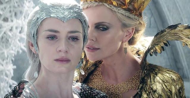 """Cena inédita de """"O Caçador e a Rainha do Gelo"""" apresenta renascer de Ravenna"""