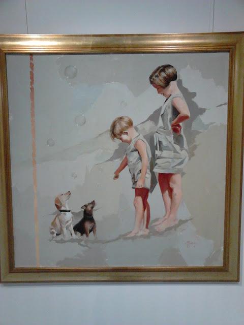"""Exposición de pintura: """"El viaje infinito"""" de Marcos Amorós, en la BUM."""
