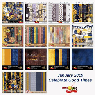 January 2019 Scrap Twist Blogtrain