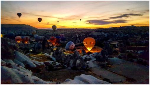 cappadocia sunset baloon tour
