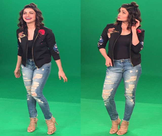 Spotted: Actress Prachi Desai in Intoto shoes
