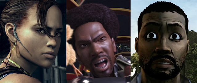 Black video game characters