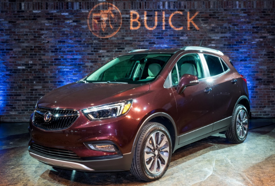2017 Buick Encore Design