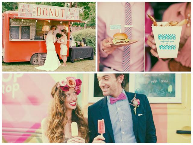 ideias de food truck no casamento