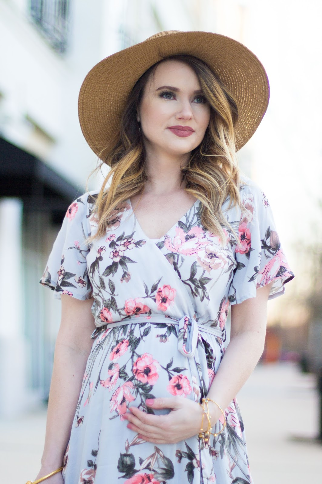 easter maxi dress