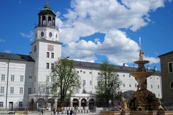salzbourg city guide residenzplatz