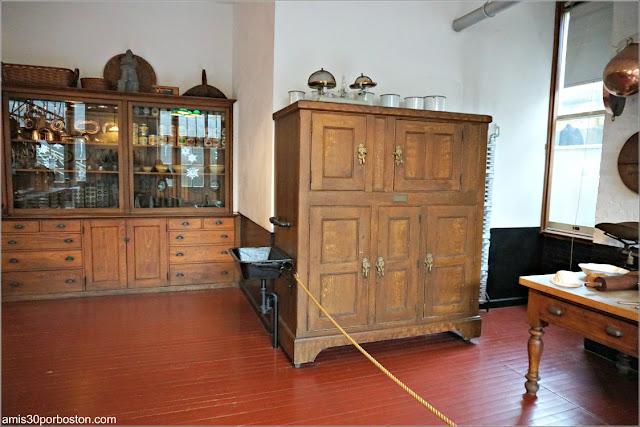 Armarios en la Cocina de Marble House, Newport