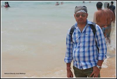 nabendu at Baga Beach, North Goa