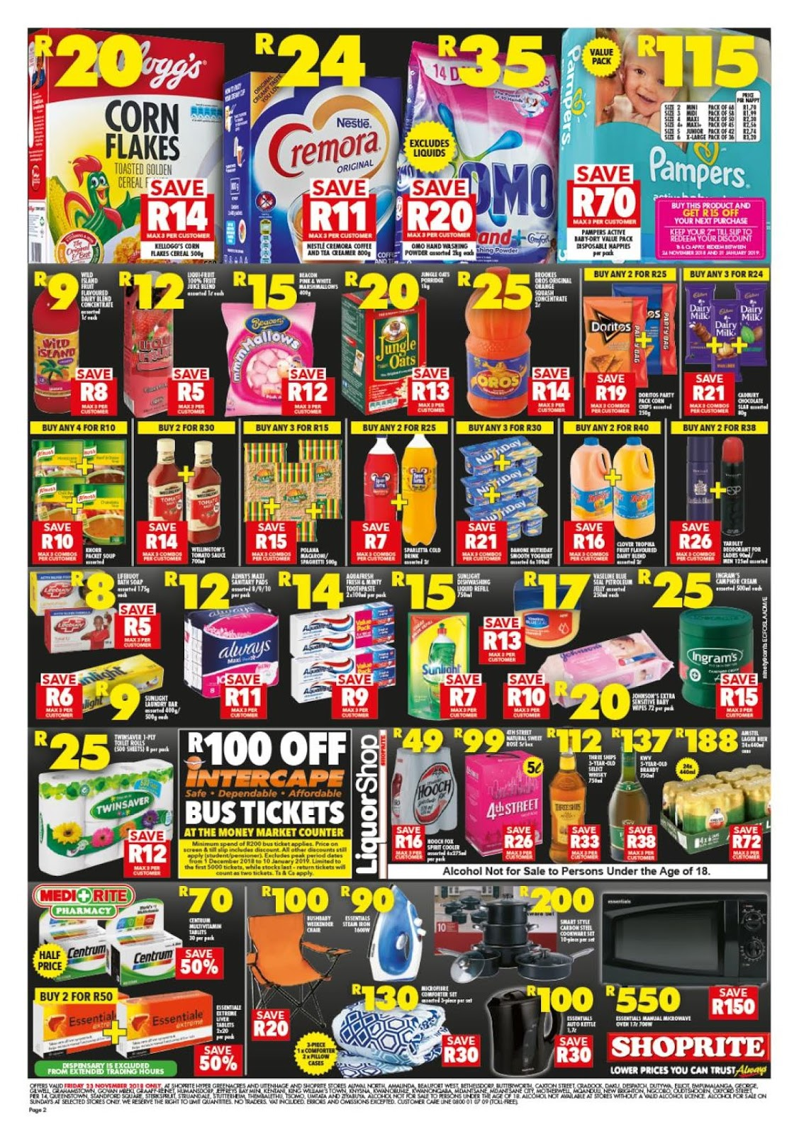 Shoprite Eastern Cape Black Friday Deals 2018