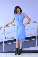 Telugu Actress Mounika UHD Stills in Blue Short Dress at Tik Tak Telugu Movie Audio Launch .COM 0044.JPG