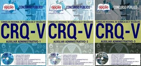 Apostila concurso CRQ 5ª Região RS 2017