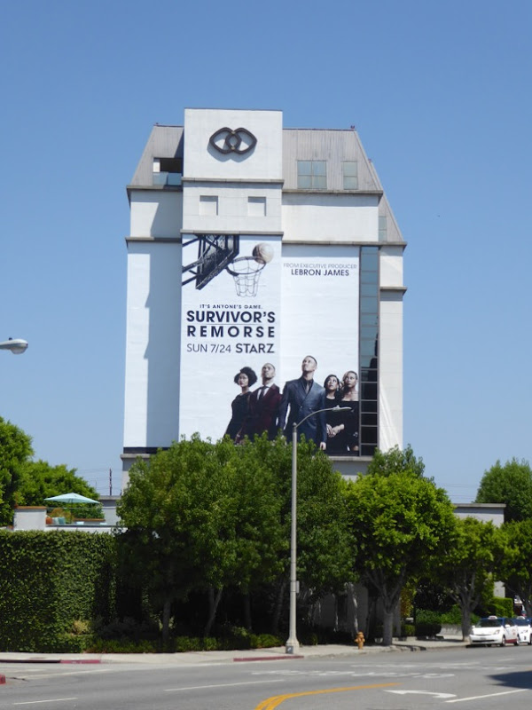 Giant Survivors Remorse season 3 billboard