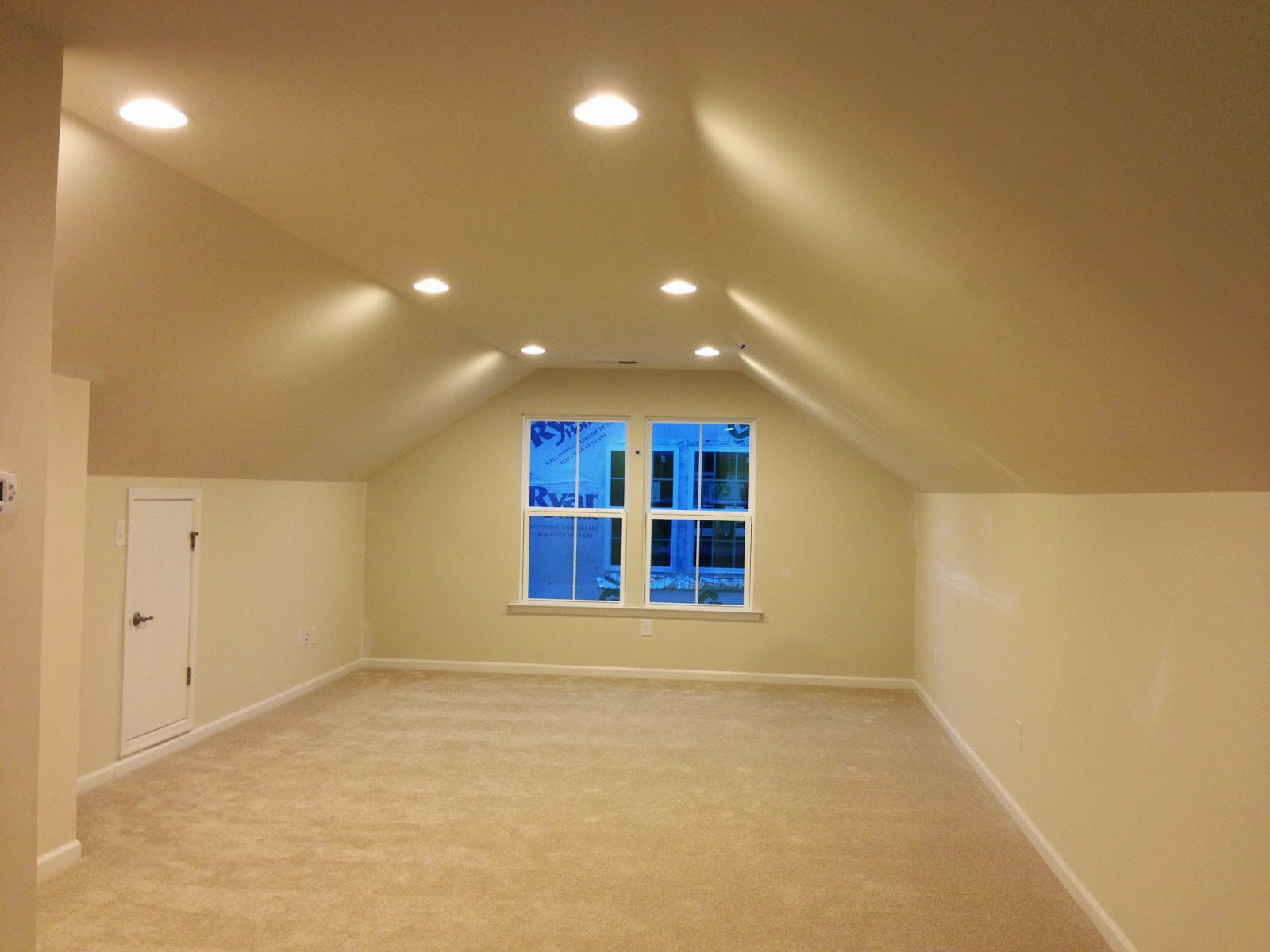 Our Venice Home at Culpepper Landing Finished attic man cave
