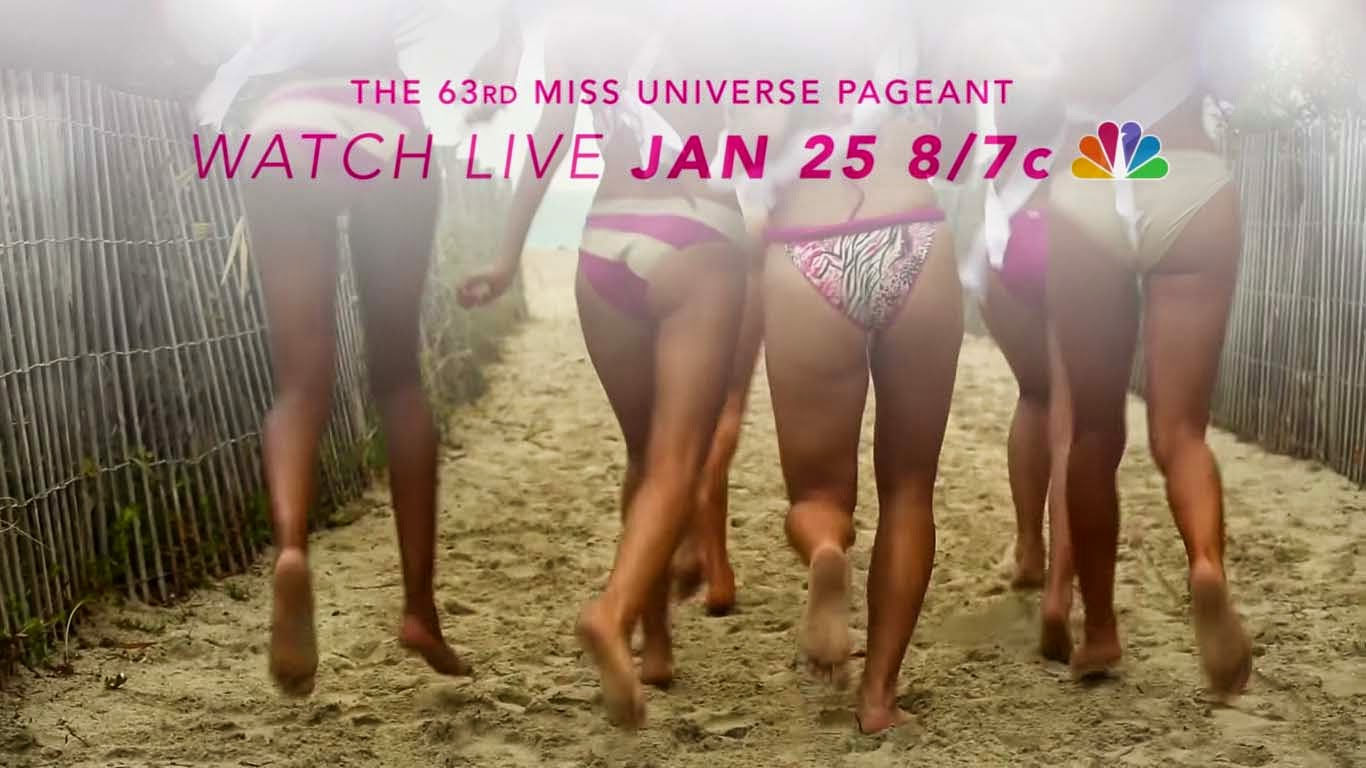 Watch Miss World 2014-2015 Miss Universe Live Pageant