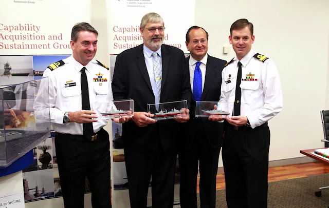 Navantia firma el contrato para la construcción de dos buques logísticos para Australia