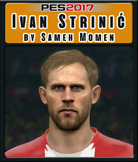 PES 2017 Faces Ivan Strinić by Sameh Momen