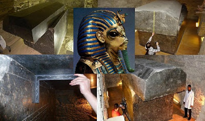tombe fossero i luoghi di sepoltura dei tori Apis, adorati come divinità nell'antico Egitto.
