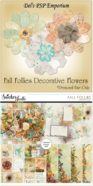 Fall Follies Decorative Flowers