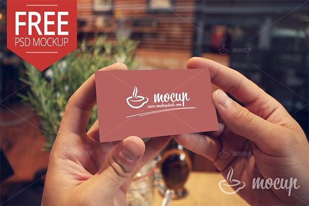 free business card mockup, free mockup