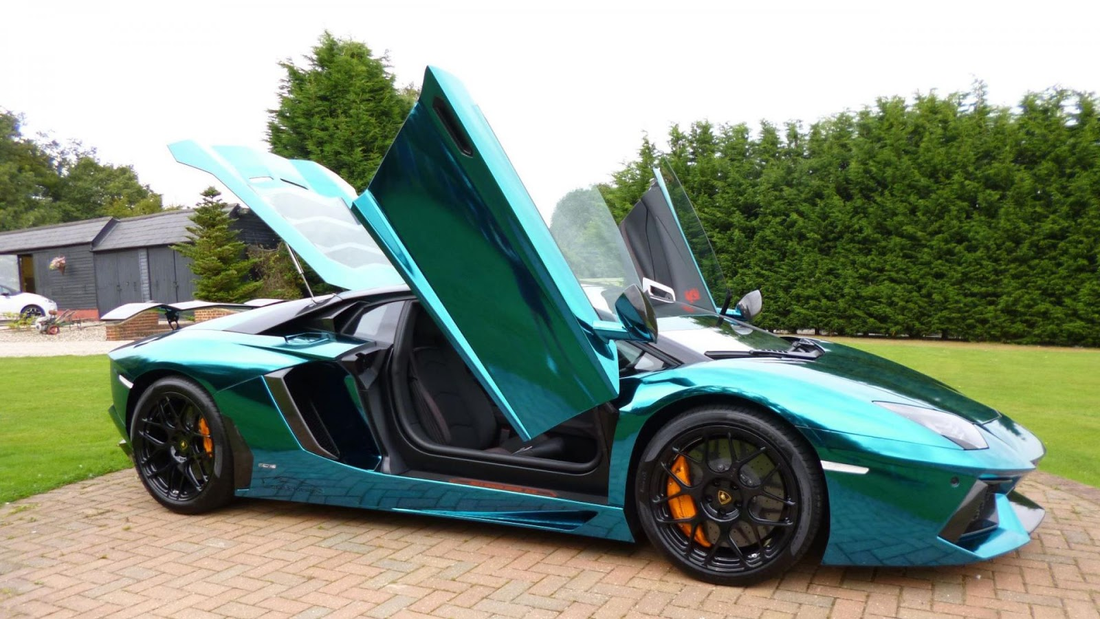 Luxury Lamborghini Cars: Lamborghini Aventador Dragon Edition