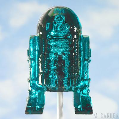 R2-D2 de paleta de caramelo