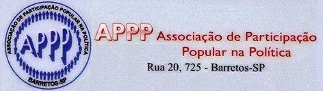 Reunião Ordinária da APPP no dia 17/01/2018 quarta-feira às 20hs00 na ACIB para associados e população em geral
