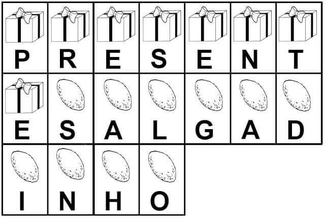 Fichas para trabalhar fonema e formação de palavra