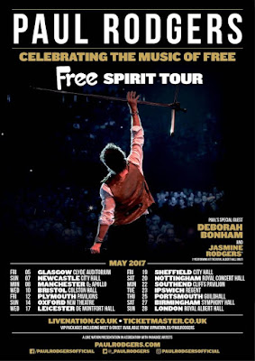 Paul Rodgers Free Spirit 2018 DVD R1 NTSC Sub