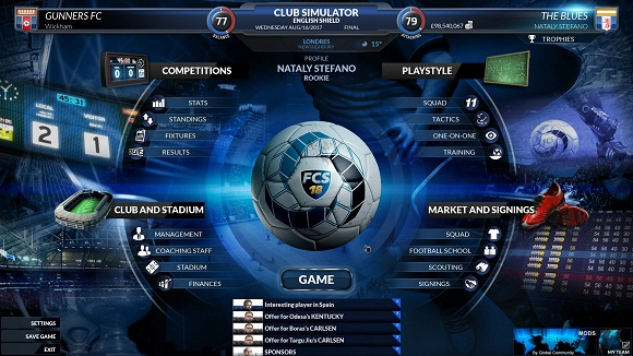 Free Download Football Club Simulator 18 Final Race Full Version