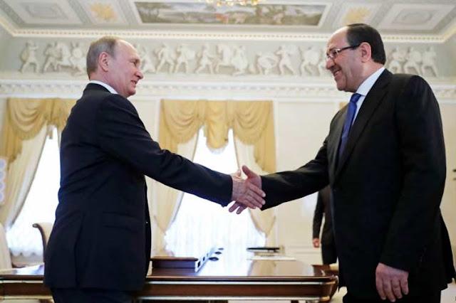 Putin analiza cooperación integral con vicepresidente iraquí