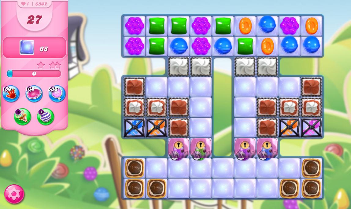 Candy Crush Saga level 6302