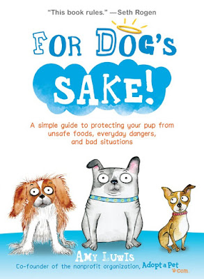 Book Cover of For Dog's Sake by Amy Luwis