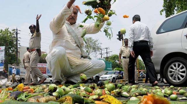 farmers protests, farmers agitation, farm loan waiver