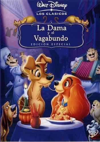 La dama y el vagabundo (1955) [DVDrip Latino] (Animación)