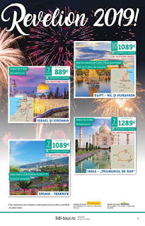 CATALOGUL LIDL TOUR REVELION 2019 Bulgaria