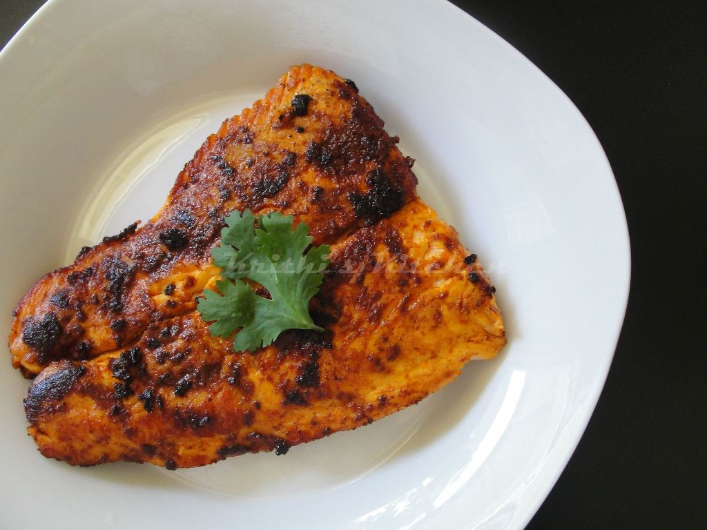 Krithi S Kitchen Salmon Fry Meen Varuval Easy Indian Fish Recipes