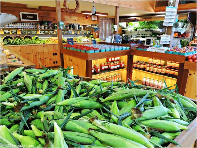 Supermercado de la Cider Hill Farm: Productos de Granja