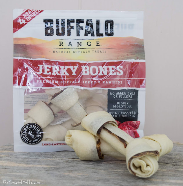 Buffalo Range Jerky Bones Premium Buffalo Jerky and Rawhide