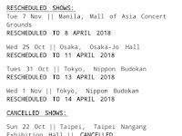 Sakitnya,Konser Ed Sheeran Di Jakarta Dibatalkan,Tapi Tidak Dengan Negara Tetangga