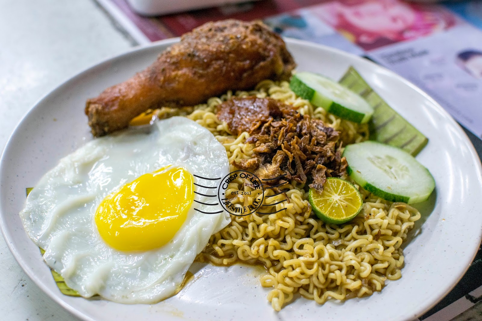 Maggie goreng supper in Penang