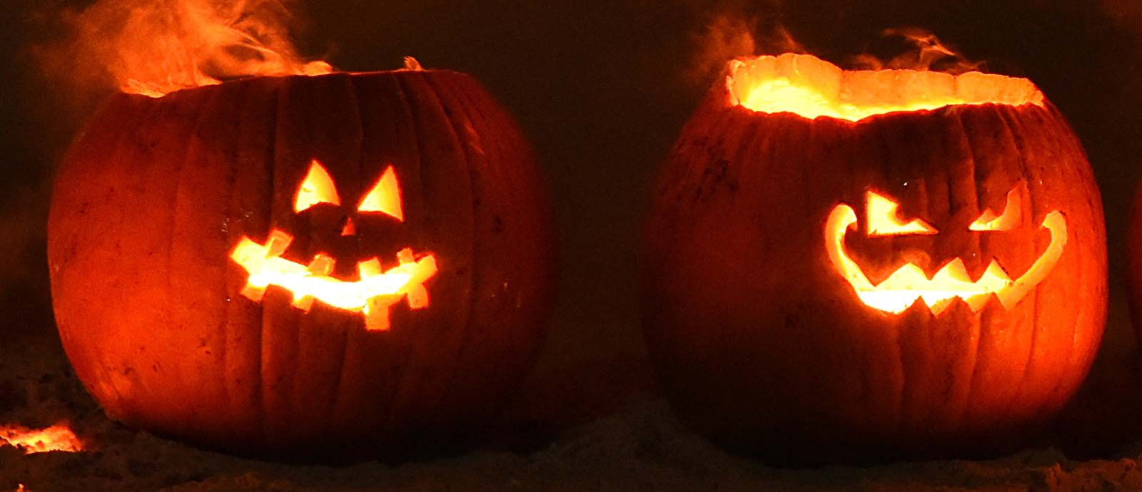 Halloween Pumpkin Iron Pour UW Platteville