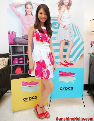 Crocs Fall / Holiday 2013 Collection, crocs shoes, crocs, comfortable stylish shoes, shoes fashion show, choo mei sze, host,