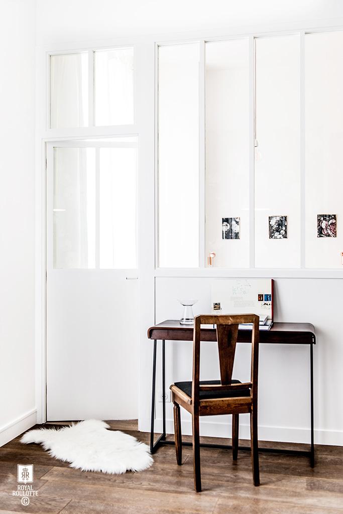 Un appartamento di 55 mq a Parigi firmato Royal Roulotte scrivania