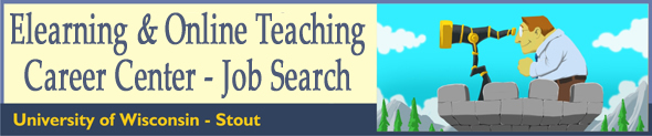Elearning and Online Teaching Career Center - Job Search University of Wisconsin - Stout