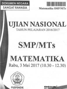 download soal un matematika smp 2017 pdf