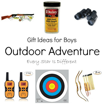 Outdoor adventure gift ideas for kids.