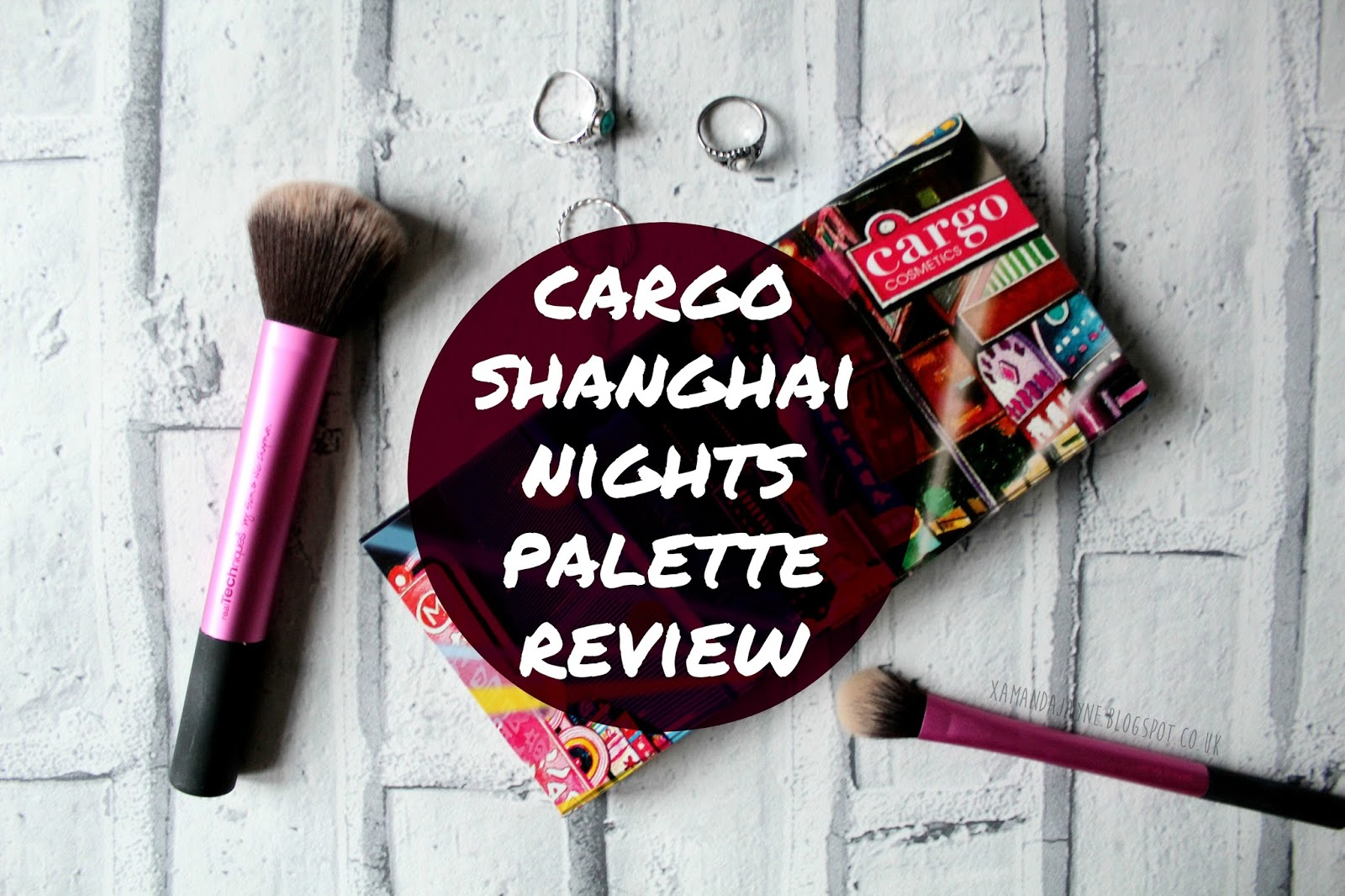 cargo cosmetics, shanghai nights palette, high-end beauty, eyeshadow palette, review, swatches